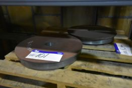 Two Cast Rail Wheels, approx. 495mm dia. (84-03-005) (Bay 1) (please note this lot is part of