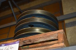 Four Pulley Wheel Assemblies (84-08-003) MS-MP003 (please note this lot is part of combination lot