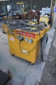 Sturdy Electric Mobile Bolt Heating Unit, approx. 12kVAPlease read the following important notes:-