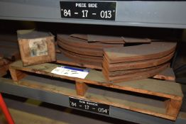 Steel Retaining Plates-Dam-20in, ID x 32in. OD (84-17-054)/ Bay 4) (please note this lot is part