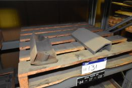 Two Side Pieces 114 Steel Side Piece 114-Side Lower (84-17-001/ Bay 4) (please note this lot is part