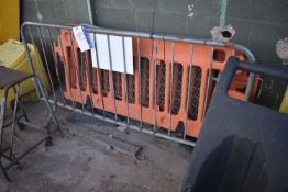 Two Plastic & Two Steel Barrier RailsPlease read the following important notes:-Removal of