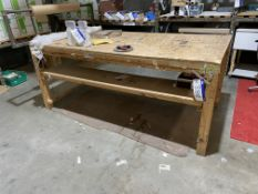Wooden Packing Table