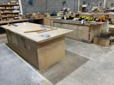 Two MDF Workbenches