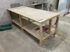 Two Mobile MDF Workbenches