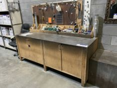 Mobile Timber Workbench & Contents