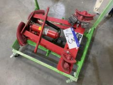 Clarke Strongarm 12 Ton Hydraulic Pipe Bender c/w Formers