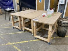 Three Mobile Workbenches