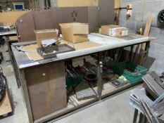 Steel Workbench & Contents