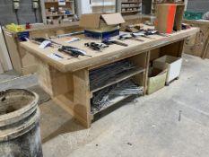 Three MDF Workbenches
