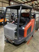 Hako P1500RH SWEEPMASTER LPG ENGINE RIDE ON FLOOR SWEEPER, serial no. 546410 6 0299 5, year of