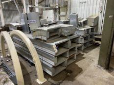 The Guttridge UNUSED GALVANISED STEEL CASED CHAIN & SCRAPER CONVEYORING COMPONENTS, year of
