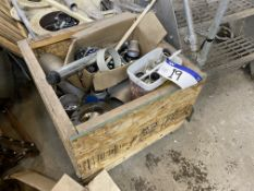 Assorted Stainless Steel Flanges & Couplings, in timber crate(lot located at Gold Line Feeds Ltd,