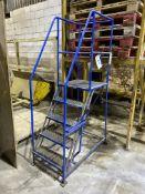Five Rise Mobile Stepladder