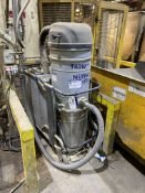Nilfisk CFM T40W Plus MOBILE CENTRAL VACUUM UNIT, serial no. 3820150500112, with steel central