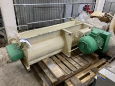 1.4m wide PELLET CRUMBLER, with electric motor drive
