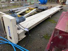 Guttridge 250MM DIA. SCREW CONVEYOR, serial no. 0566259-1-1 SC1A, date of manufacture 07/10, approx.