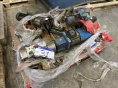 Pumps, on pallet, including Ibex SRU2/ 018LS, with motor drives as fitted(lot located at Gold