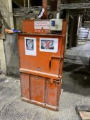 CK International CK51 WASTE COMPACTOR, serial no. CK336-203, single phase, 1.1kW, bale size