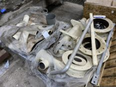Assorted Flanges & Equipment, on two pallets