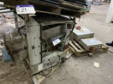 Clyde Richard Simon 25kg Load Cell Packing Weigher, serial no. 21959, 15kg min. load, with Richard