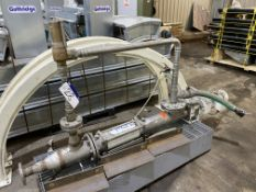 PCM 10R6215-1 Stainless Steel Cased Pump, serial no. 287018/1, CYL 1917cm³, with geared electric