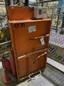 CK International CK51 WASTE COMPACTOR, serial no. CK336-1396, kW1.1, phase single, bale size approx.