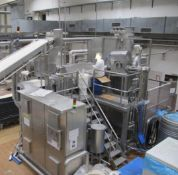 Sasib Continuous Pastry Mixing System, with gantry