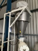 Flour Depositor Weigher, approx. 1.3m x 1m x 3.2m