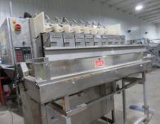 Belt Conveyor, approx. 300mm belt width, overall d