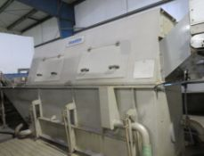 Haith Stainless Steel Washer, approx. 2m wide, ove