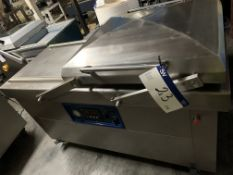 Twin Chamber Vacuum Packing Machine, with 600 seal
