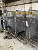 Three Wire Mesh Cages