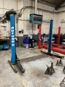Hofmann Europa II 2.5ton TWO POST VEHICLE LIFT, year of manufacture 1999