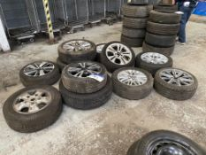 11 Various Alloy Wheels and Tyres