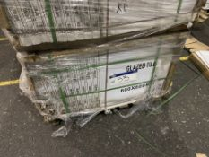 40 Boxes of Glazed Tiles, item no. F6YC1269, 600mm
