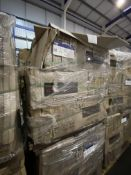 60 Boxes of White Ceramic Wall Tiles, item no. JY3