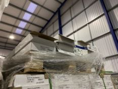 15 Boxes of SPC Flooring Grey Click System Laminat