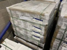 108 Boxes of White Tiles, item no. WGITN1B, 200mm