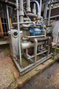 Stainless Steel 1,600 litres Vacuum Tank, Vacuum P