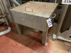 Stainless Steel Tip Hopper(please note - all lots