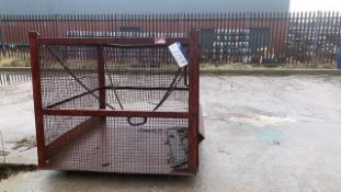 PDW Two Tonne SWL Steel Lifting Cage(please note