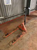 Linde 2,500kg Hand Hydraulic Pallet Truck(please
