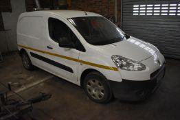 Peugeot PARTNER 850 S L1 HDI PANEL VAN, registration no. CE14 YZF, date first registered 08/04/2014,