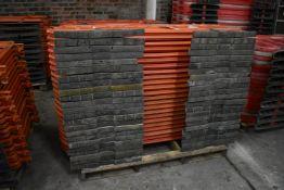 Approx. 23 Melba Swintex Plastic Barriers, each approx. 1.9m long