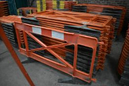 Approx. 20 Plastic Barriers, each approx. 1.85m long