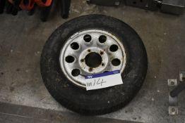 Five Stud Wheel Hub & Tyre Bridgestone 195R15 940