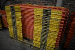 27 Oxford Plastics Avalon Plastic Barriers, each approx. 1.7m wide