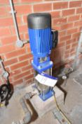 Lowara 3SV12T011T/D Multi-Stage Pump, code 1016LC520, with electric motor drive (There will be a