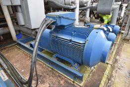 Ingersoll-Dresser 3WDXR 9C PUMP, serial no. OF20140/02, 50m3/hour, 604.3m H, understood to have